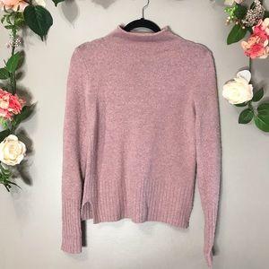Madewell | Mauve wool sweater